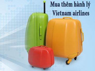 Bảng giá hành lý mua thêm hãng Vietnam airlines