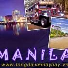 Vé máy bay đi Manila, Philippin