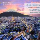 Du lịch Nhật Bản chỉ với 540$ cho vé khứ hồi từ Hà Nội