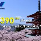 Vé máy bay đi Nagoya, Nhật Bản
