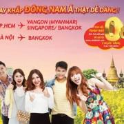 VietJet Air khuyến mại Đông Nam Á giá từ 0 đồng