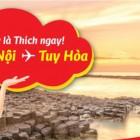 Vé máy bay đi Tuy Hòa giá rẻ Vietjet Air