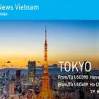 Ưu đãi hấp dẫn ANA mừng ra mắt website tiếng Việt