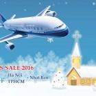 Khuyến mãi giáng sinh 2016 cùng China Southern Air